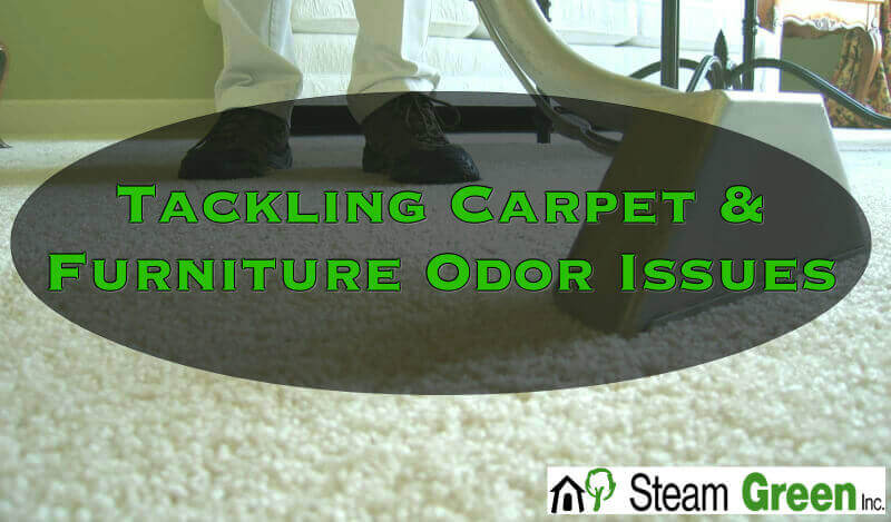 Tackling Carpet and Furniture Odor Issues in Peoria IL & Bloomington IL